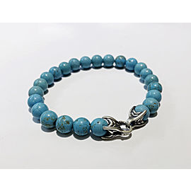 David Yurman Spiritual Beads Turquoise Bracelet