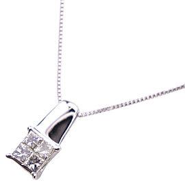 GRAVIE 18k white gold/diamond Necklace