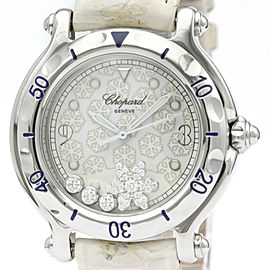 Chopard Happy Sport snowflake Quartz Ladies Watch 27/8949