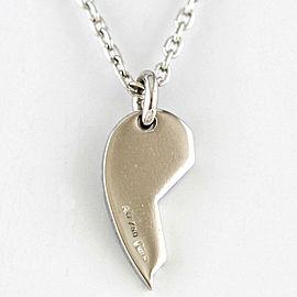 GUCCI 18k white gold Diamond Necklace CHAT-523