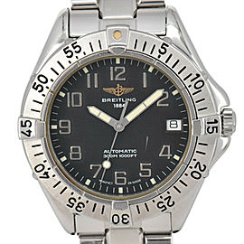 BREITLING Colt Ocean A17035 Black Dial Date Automatic Men's Watch