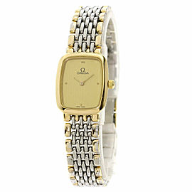 OMEGA Gold Plated/Stainless Steel De Ville Watch