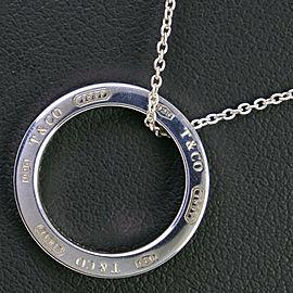 TIFFANY & Co Silver925 Circle Necklace