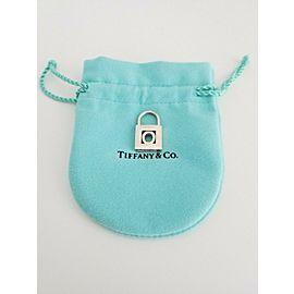 Tiffany & Co. Sterling Silver Alphabet Letter O Lock Padlock Pendant