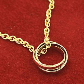 Cartier 18k pink gold,18k Yellow gold,18k white gold Trinity Necklace
