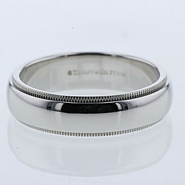 TIFFANY & Co. Milgrain band measures Ring TBRK-571