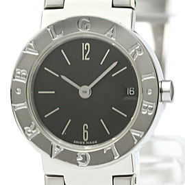Polished BVLGARI BVLGARI-BVLGARI Steel Quartz Ladies Watch BB23SSD