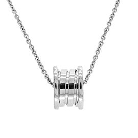 Bulgari B.Zero 1 18K White Gold Necklace