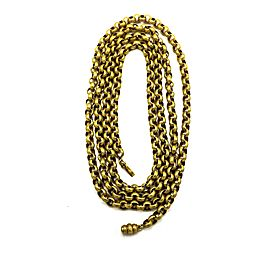 Victorian Period 15 Karat Gold Extended Chain or Necklace