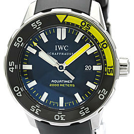 IWC Aquatimer Automatic 2000 Steel Rubber Mens Watch IW356810