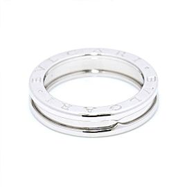 BVLGARI 18K White Gold B-zero Ring