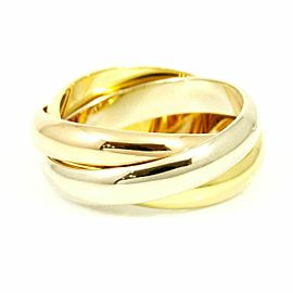 Cartier 18KWhite Gold, 18KRose Gold, 18KYellow Gold Three Colors Trinity Ring CHAT-117
