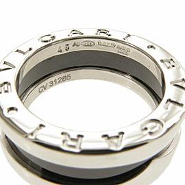 BVLGARI Silver B-zero1 Save the Children Ring