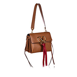 VRing Leather Shoulder Bag
