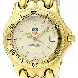 TAG HEUER Sel Gold Plated Quartz Mens Watch #HK-380