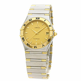 OMEGA Stainless Steel/18K Yellow Gold Constellation Two-Tone 1212.10 Watch