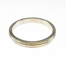 Cartier 18K Pink Gold/18K Yellow Gold/18K White Gold Three Gold Wedding Ring TkM-207