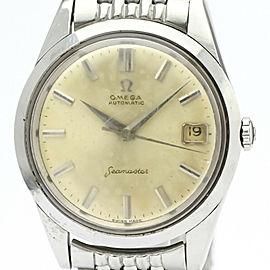 Vintage OMEGA Seamaster Cal 562 Rice Bracelet Steel Mens Watch 14763