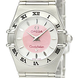 OMEGA Constellation Stainless steel MOP Dial Japan LTD Edition Watch