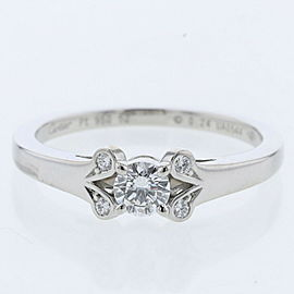 CARTIER platinum/diamond Ballerina Ring TBRK-673