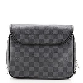 Louis Vuitton Hanging Toiletry Kit Damier Graphite