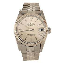 Rolex Oyster Perpetual Datejust Automatic Watch Stainless Steel and White Gold 31