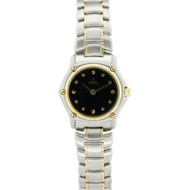 Ebel Classic 1911 Two Tone Stainless Steel and 18K Yellow Gold 24mm Womens Watch
