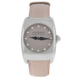 Ladies' Pasquale Bruni PBU 001 AC CA Steel Diamond Quartz 29MM Watch