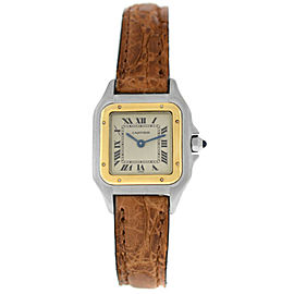 Cartier Panthere 1120 Ladies' Steel 18K Yellow Gold 22MM Quartz Watch