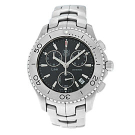 Men's Tag Heuer Link CJ1110 Stainless Steel Date 42MM Quartz Watch