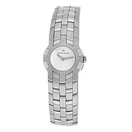 Ladies Maurice Lacroix Milestone IN1013-SS002-191 Steel Quartz 24MM Watch