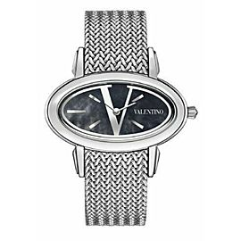 New Valentino V50SBQ9999 S099 V Logo Quartz Watch - NO BUCKLE