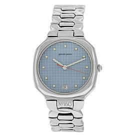 New Unisex Gerald Genta Retro Classic G.3330.7 Stainless Steel 33MM Quartz Watch