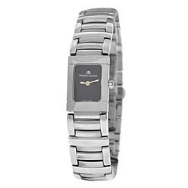New Lady Maurice Lacroix Miros MI2011-SS002-330 Steel $1200 Quartz 16MM Watch