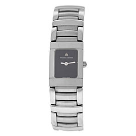 New Lady Maurice Lacroix Miros MI2012-SS002-330 Steel $1200 Quartz 18MM Watch