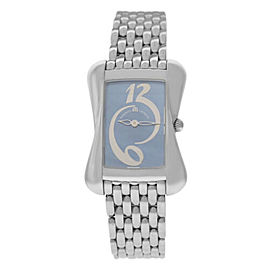 New Ladies Maurice Lacroix Divina DV5012-SS002-360 Steel MOP $1350 Quartz Watch
