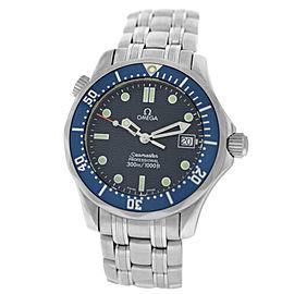Midsize Omega Seamaster 2561.80 Men's Unisex Stainless Steel Quartz 36MM Watch