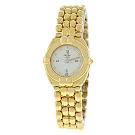 Ladies Chopard Gstaad 32/5120 Quartz 18K Yellow Gold 23MM Watch - 93 GRAMS GOLD
