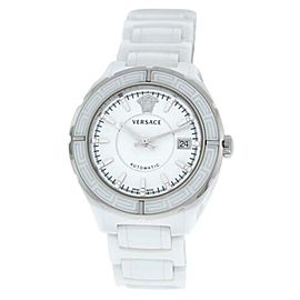 New Versace DV One 02ACS1D001 SC01 Ceramic Diamond 41MM Automatic Date Watch