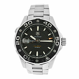 Men's Tag Heuer Aquaracer Calibre 5 WAJ2110 Stainless Steel Automatic 43MM Watch