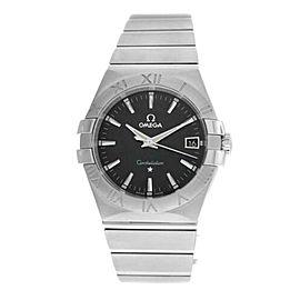 Men's Unisex Omega Constellation 123.10.35.60.01 Steel Quartz 35MM Watch