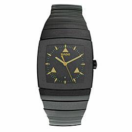 New Unisex Rado Sintra R13724172 Ceramic 32MM Date Quartz $2,600 Watch