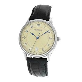 Men's Tourneau 30020A Stainless Steel Automatic 36MM Date Watch