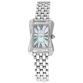 Maurice Lacroix Divina Ladies Diamond MOP $2550 DV5011-SD552-160 Quartz Watch