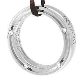Damiani Model: 20008581 18K White Gold Diamond Brad Pitt $1,968 Ring