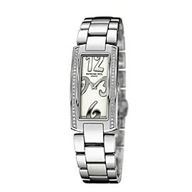 Ladies' Raymond Weil Shine 1500-ST1-05303 Stainless Steel Diamond Quartz Watch