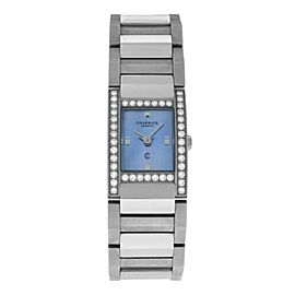 Charriol Megeve Ladies' MVGED MOP Stainless Steel Diamond Quartz Watch 19MM