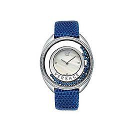 New Versace Destiny Spirit 86Q941MD497 S282 Floating Crystals 38MM Diamond Watch