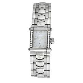 Charriol COLVMBVS COLUMBUS CCSTRM Ladies Steel Diamond 20MM Quartz Watch