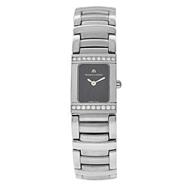 New Lady Maurice Lacroix Miros MI2012-SD552-330 Diamond $2750 Quartz Watch